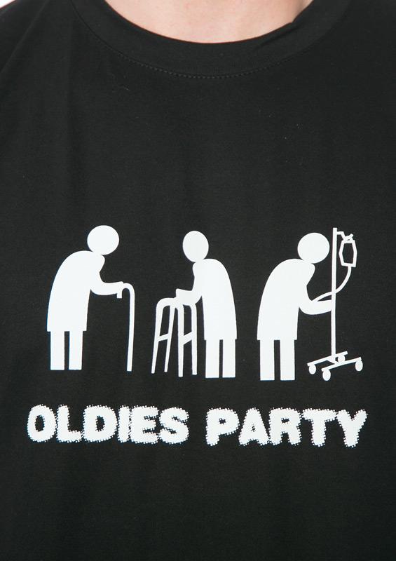 ... náhled - Oldies party černé pánské tričko 8a43c6712e