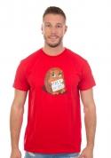náhled - Objetí zdarma červené pánské tričko