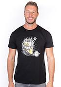 náhled - Energy drink černé pánské tričko - nový střih