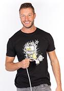 náhled - Energy drink černé pánské tričko