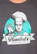 náhled - U Hannibala pánské tričko – nový střih