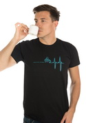 náhled - Coffee help pánské tričko - nový střih