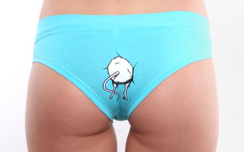... náhled - Myš v zadnici - tyrkysové kalhotky ... cf95069cf0