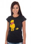 náhled - Ups černé dámské tričko