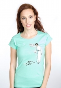 náhled - Luke a Leia dámské tričko