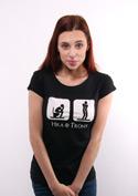 náhled - Hra o trůny dámské tričko klasik