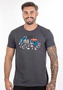náhled - Souboj superhrdinů pánské tričko