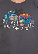 náhled - Souboj superhrdinů pánské tričko – nový střih