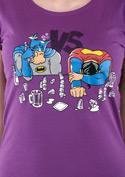 náhled - Souboj superhrdinů dámské tričko