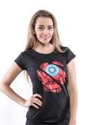 náhled - Ironman černé dámské tričko