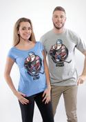 náhled - Jarda Forever modré dámské tričko