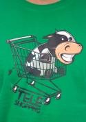 náhled - Teleshopping zelené pánské tričko