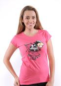náhled - Teleshopping fuchsiové dámské tričko