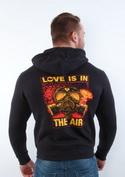 náhled - Love is in the Air pánská mikina – záda