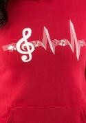 náhled - Žiju muzikou dámská mikina