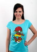 náhled - Pokémon burger dámské tričko