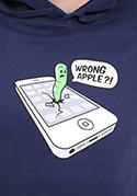 náhled - Wrong apple pánská mikina