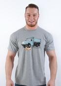 náhled - Tatrická masáž šedé pánské tričko