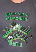 náhled - Uchováno v paměti pánské tričko