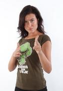 náhled - Zahoď ten stejk dámské tričko
