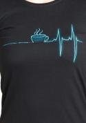 náhled - Coffee help dámské tričko klasik