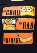 náhled - Hodný zlý a banán lodičkové dámské tričko