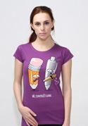 náhled - Používej gumu dámské tričko
