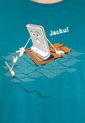 náhled - Jacku modré pánské tričko