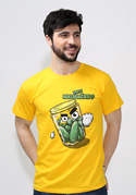 náhled - Nakládačka žluté pánské tričko