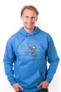 náhled - Modrá smrt pánská mikina
