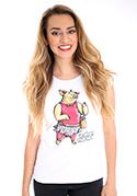 náhled - Vepřová panenka bílé dámské tričko