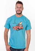 náhled - Francouzský buldoček pánské tričko