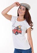 náhled - Francouzský buldoček dámské tričko