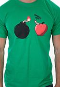 náhled - Bombovej účes pánské tričko
