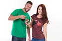 náhled - Bombovej účes dámské tričko