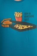 náhled - Krabičková dieta modré pánské tričko