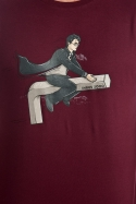 náhled - Harry na inbusu vínové pánské tričko