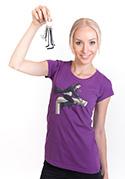 náhled - Harry na inbusu fialové dámské tričko