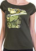 náhled - Yoda v rákosí dámské tričko
