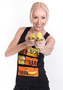 náhled - Hodný zlý a banán dámské tílko