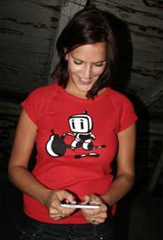 náhled - Bomberman dámské tričko