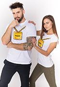 náhled - Máslo bílé dámské tričko