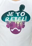 náhled - Je to rebel pánské tričko