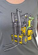náhled - Ještěrka dámské tričko