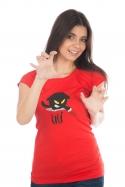 náhled - Čičina červené dámské tričko