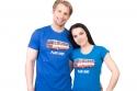 náhled - Full MHD modré pánské tričko – nový střih