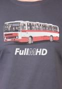 náhled - Full MHD šedé pánské tričko – nový střih