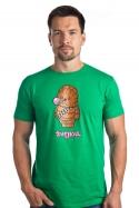 náhled - Žvejkal zelené pánské tričko