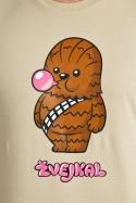 náhled - Žvejkal hnědé pánské tričko