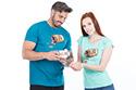 náhled - Music pills modré pánské tričko